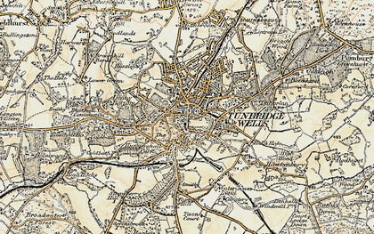 Royal Tunbridge Wells photos maps books memories