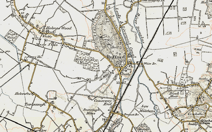 Old map of White Br in 1902-1903