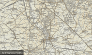 Map of Rushmere, 1898-1899