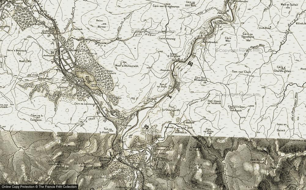 Ruthven, 1908-1912