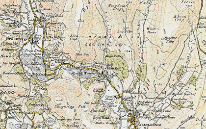Old map of White Howe in 1904