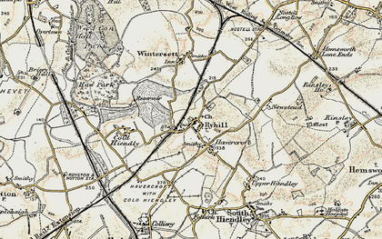 Old map of Ryhill in 1903