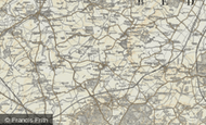 Map of Salford, 1898-1901