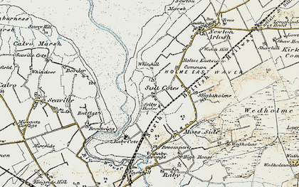 Old map of Whitehill in 1901-1904