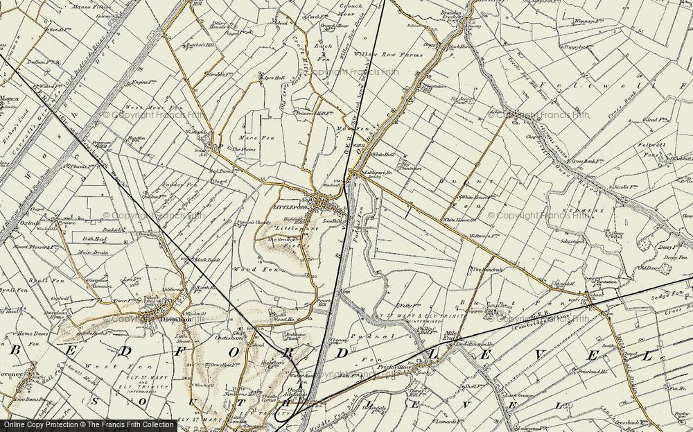 Sandhill, 1901