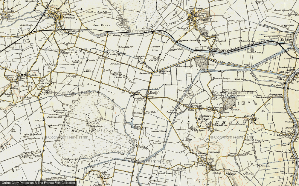 Old Map of Sandtoft, 1903 in 1903