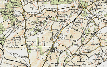 Old map of Adelphi in 1901-1904