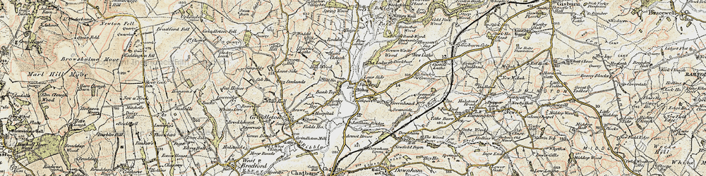 Old map of Till Ho in 1903-1904