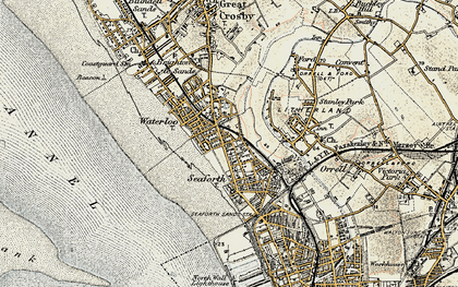 Old map of Seaforth in 1902-1903