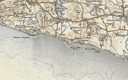Old map of Western Patches in 1899