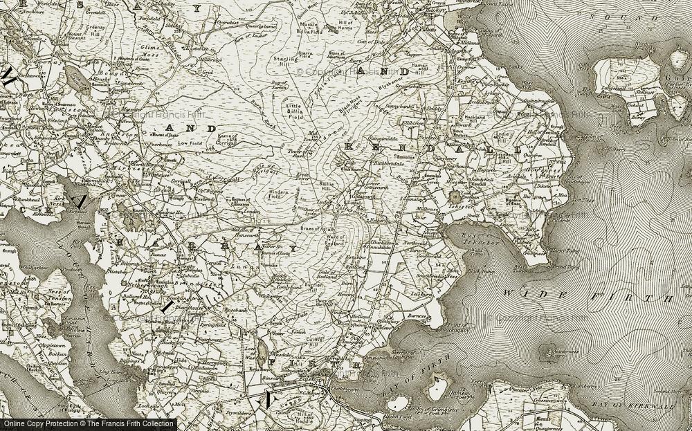 Settiscarth, 1911-1912