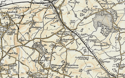 Old map of Avaries,The in 1899
