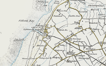 Old map of Windmill, The in 1901-1904