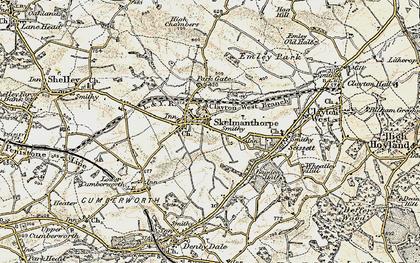 Old map of Skelmanthorpe in 1903