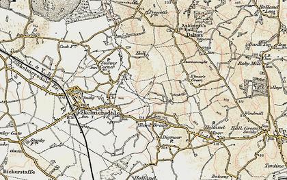 Old map of Skelmersdale in 1902-1903