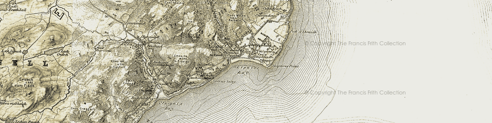 Old map of Altagalvash in 1905-1907