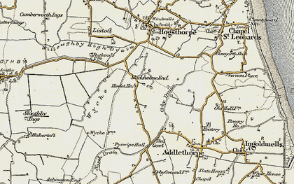 Old map of Wyche in 1902-1903