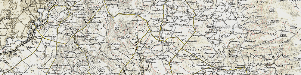 Old map of Wickerthwaite in 1901-1904