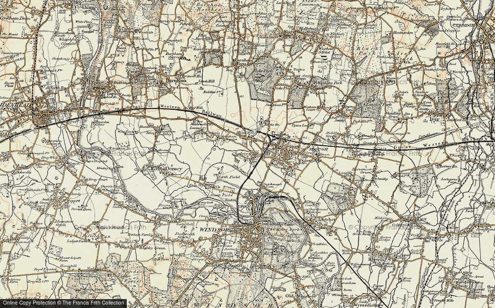 Old Maps of Slough Francis Frith