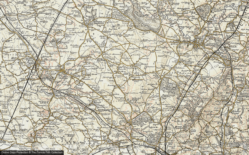 Old Map of Smallwood, 1902-1903 in 1902-1903