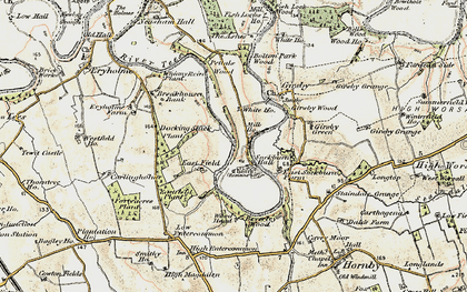 Old map of Wood Head in 1903-1904