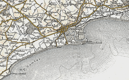 Old map of South Beach in 1903