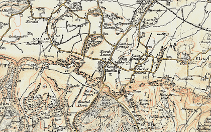 Old map of South Harting in 1897-1900