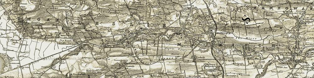 Old map of Leslie Ho in 1903-1908