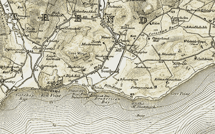 Old map of Lephenstrath Br in 1905