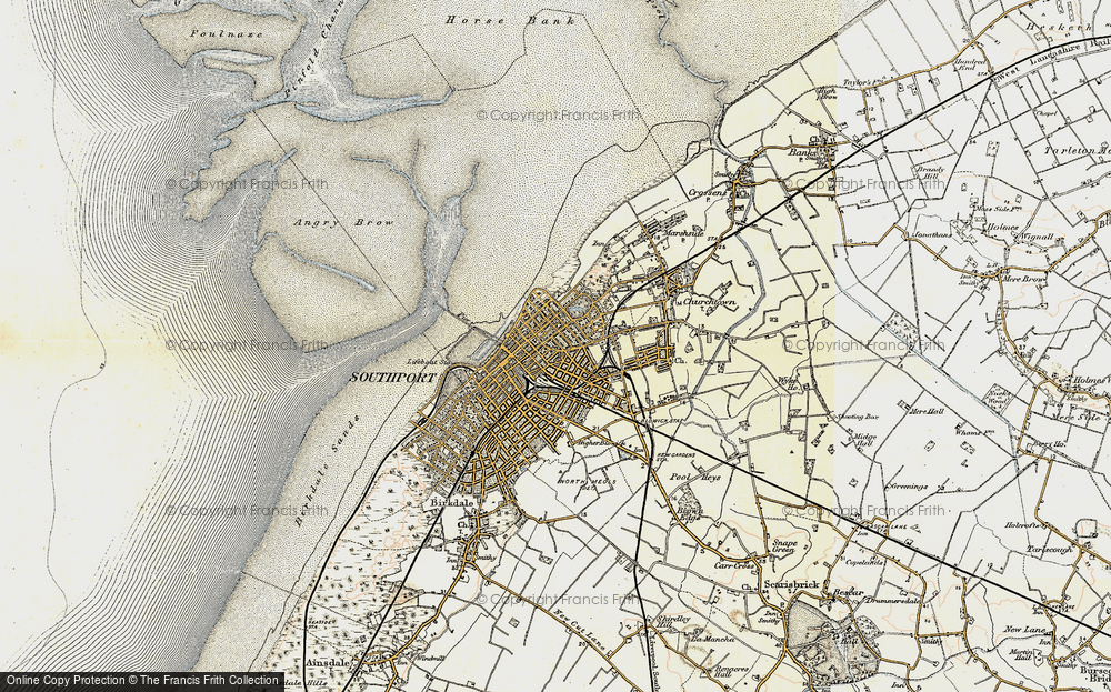 Old Map of Southport, 1902-1903 in 1902-1903