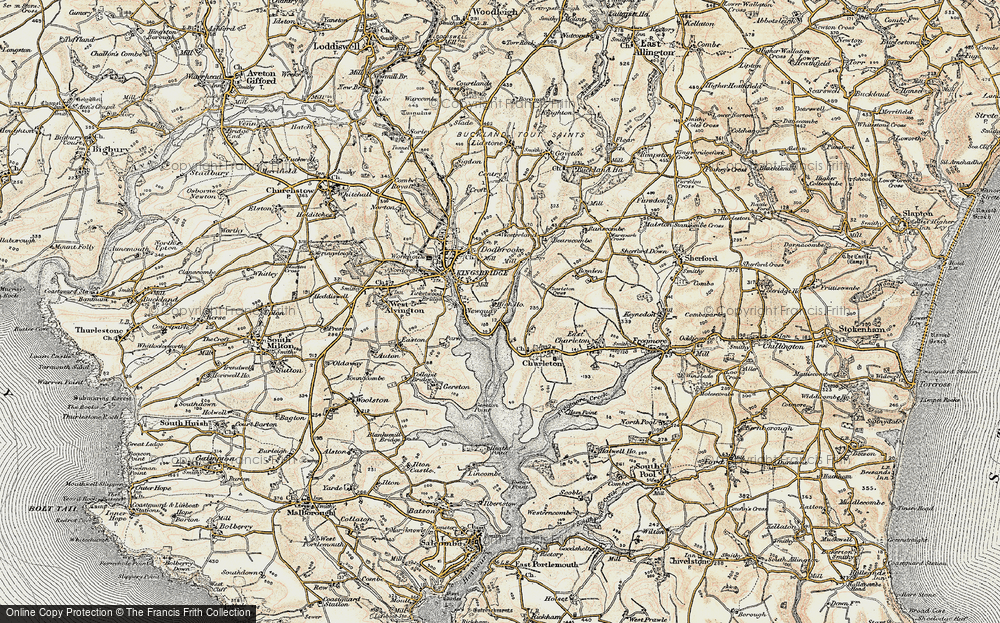 Old Map of Southville, 1899 in 1899