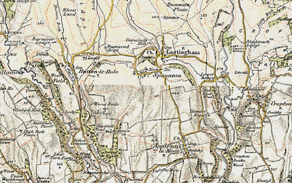 Old map of Wheat Ends in 1903-1904