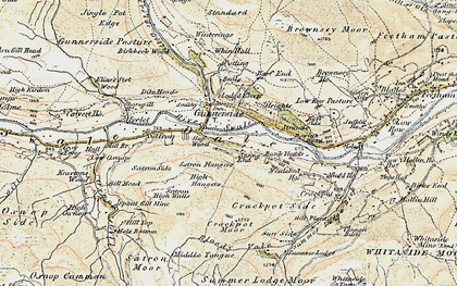 Old map of Bank Heads in 1903-1904
