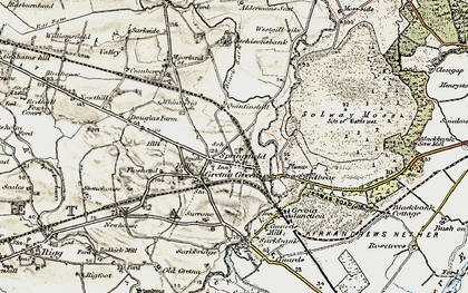 Old map of Westgillsyke in 1901-1904