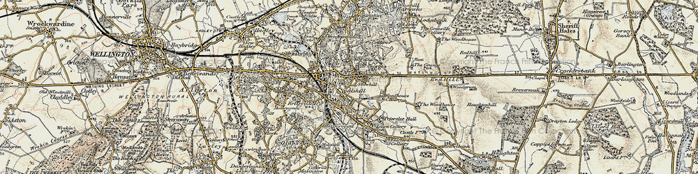 Old map of St George's in 1902