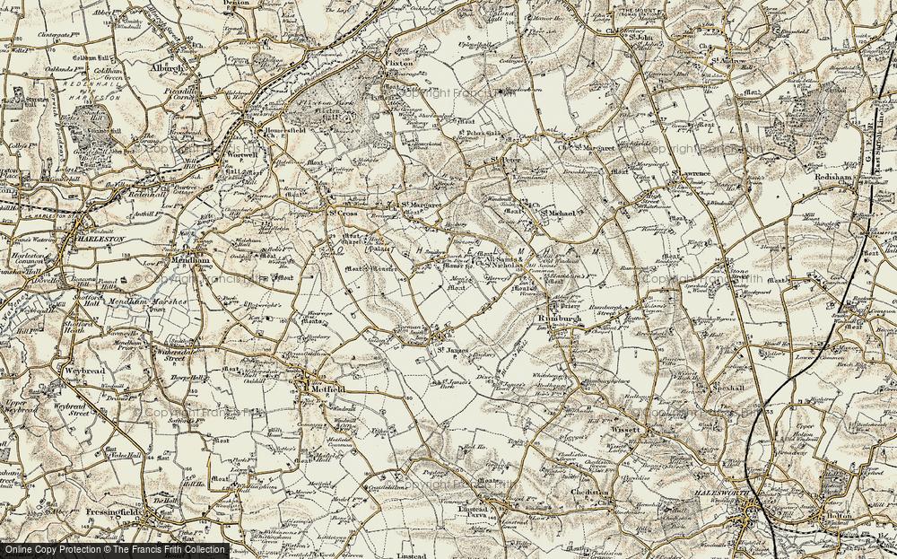 St Nicholas South Elmham, 1901-1902