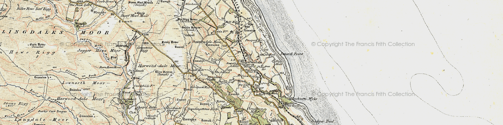 Old map of Staintondale in 1903-1904