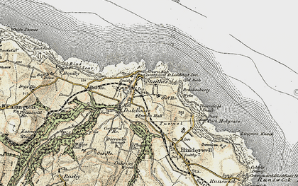 Old map of Dalehouse in 1903-1904