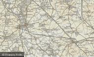 Map of Stanbridge, 1898-1899