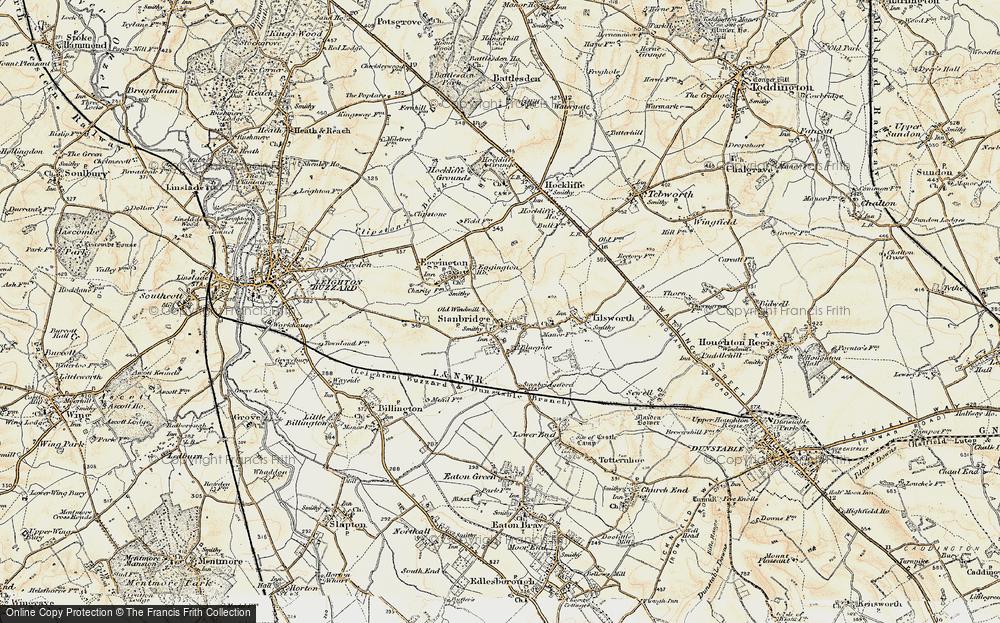 Stanbridge, 1898-1899