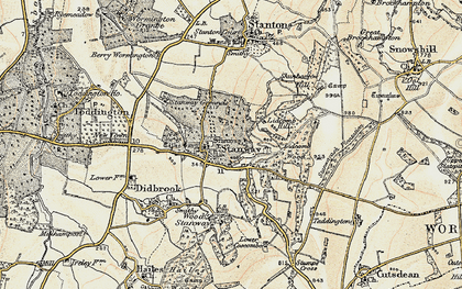 Old map of Lidcombe Hill in 1899-1900