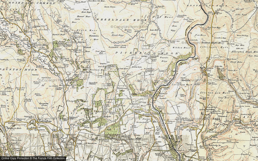 Old Map of Stape, 1903-1904 in 1903-1904