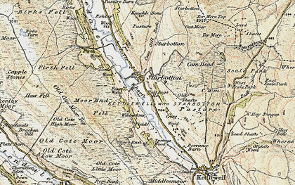Old map of West Scale Park in 1903-1904