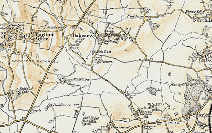 Old map of Wimble Toot in 1899