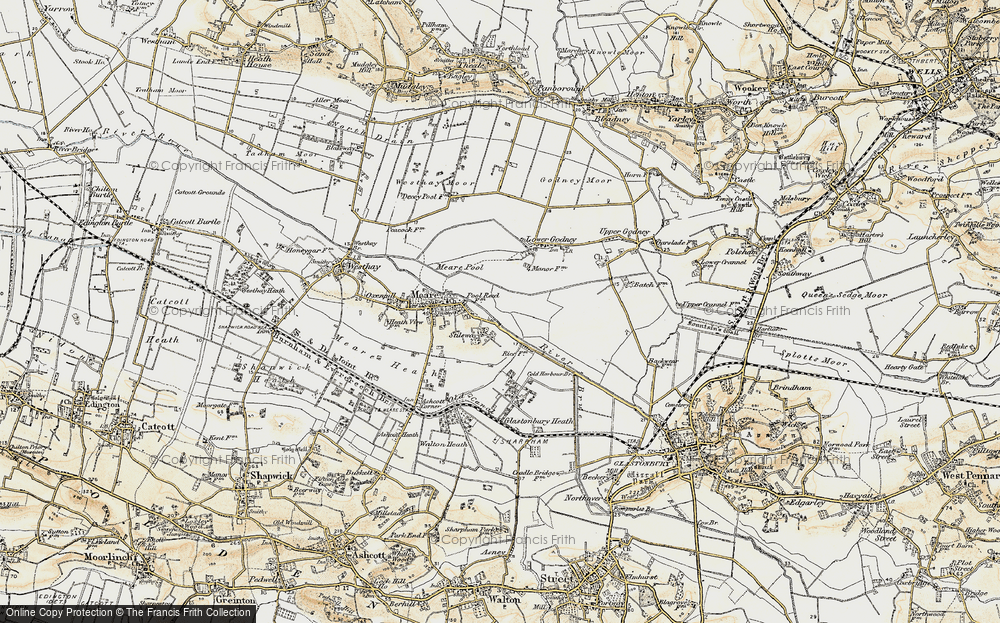 Old Map of Stileway, 1898-1900 in 1898-1900