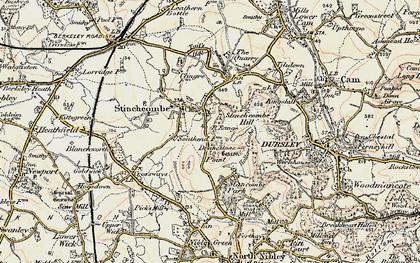 Old map of Stinchcombe in 1898-1900
