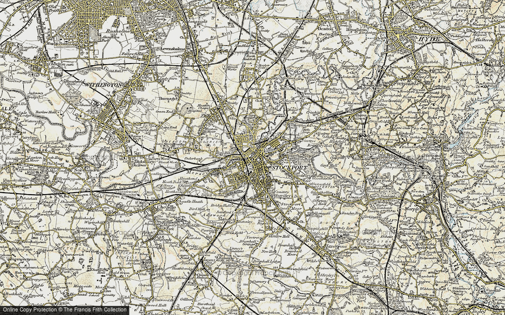 Old Maps of Stockport Francis Frith