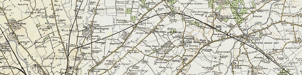 Old map of Willow Grove in 1903-1904