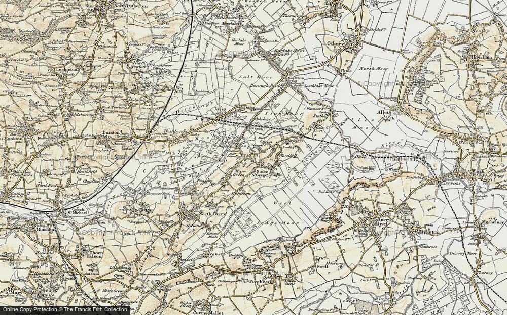 Stoke St Gregory, 1898-1900