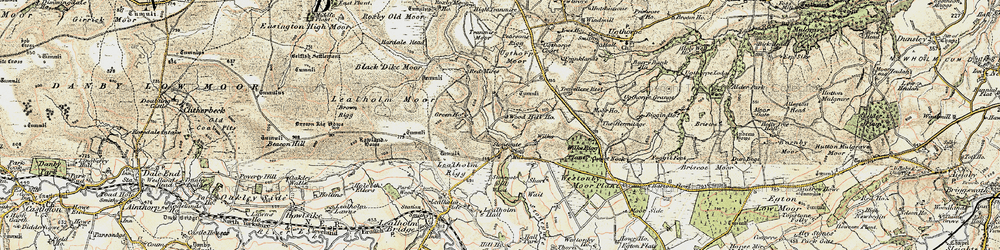 Old map of Westonby Plantn in 1903-1904